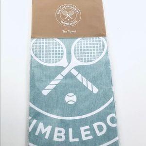 WIMBLEDON England Tennis Club Kitchen Tea Towel